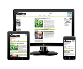 Clark Crossing Gazette Responsive Design