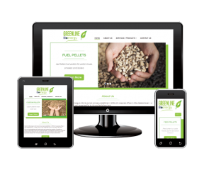 Greenline BioEnergy Responsive Design